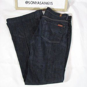 7 For All Mankind Ginger Blue Jeans 29 Flare